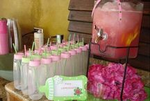 baby girl shower ideas / by Lana Hill