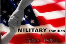Military Families with Special Needs Children / A series that began on Special Happens and is written by Raven Greene, aka MsMommyHH6. / by Gina StAubin @Special_Happens