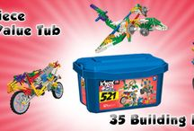 "Toys ""R"" Us Exclusive Products / Check out these cool K'NEX products only available at Toys ""R"" Us and ToysRUs.com!   / by K'NEX Brands"