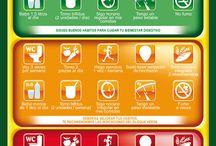 Salud y Ejercicio  / Ejercicio y salud junto a una buena alimentación ecológica, afirmación de todos los expertos http://www.doctorveg.es / by Doctor Veg Cesta Ecológica