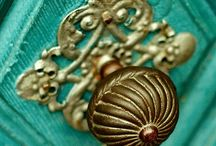 Keys and Doorknobs.................... / pretty keys and doorknobs / by Nancy Bowers
