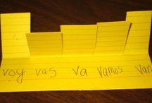 Vocabulario, Verbos, Gramática / by Sra. Dana