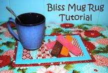 Mug rugs / Mug rugs and coffee covers / by Judy Relyea
