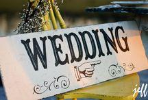 wedding signs / by Eden Lindsay-Bodie