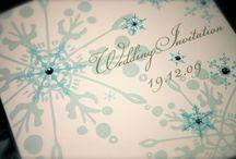 Winter Wedding Invitations / by InvitesWeddings