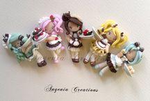 Dolls - Angenia Creations  / by Beatriz
