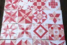 Red and white or colour plus white quilts / by Jo Loves to Quilt