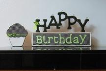 Birthdays / by pinkplaid