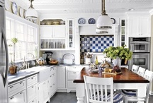 Home-Kitchen & Dining Rooms / Ideas and inspiration for the kitchen/dining areas. / by Julie Walker