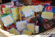 Gift Basket Ideas / by Angie Atwood