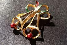 Vintage Holiday Jewelry  / Vintage Holiday Jewelry - Costume Jewelry  / by Dana Allman