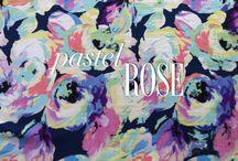 Pastel Rose / Pastel Rose is our Print of the Month for July. Explore all things pastel that inspire us... / by YUMI KIM