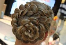 Hair.... Styles, Bows, Treatments, .... / Braided, short, long, colored, permed, curled, straight, and more!!  / by Wendy Anding