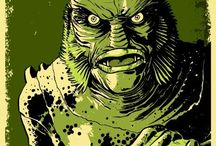 The Creature / The Creature From The Black Lagoon / by Buzzsaw Joint
