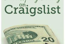 Craigs List tips / by Susan Redmond