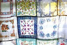 Handkerchief Quilts & Vintage Hankies,Etc. / Quilts and handerchiefs,etc.. / by Sherry Byrd
