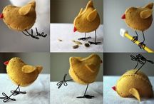 Create : Felt Crafts / by Akram Taghavi-Burris