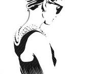 Illustration and drawing  / Dibujos, ilustraciones de ayer de hoy y de siempre / by Mercedes Suárez Bouza