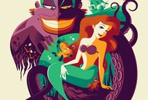Little mermaid production ideas / Images, set design, poster design for primary school production of the little mermaid / by Kirsty Booth