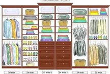 Master Bedroom Closet / by Beth DelValle