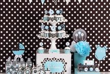 Mod Blue Baby Party / by HerBabyShower