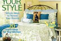 From Our March 2014 Issue / Our March 2014 issue is your one-stop spot for all the eggs-citing spring style ideas and decor you need to refresh and renew your home. / by Country Sampler Magazine
