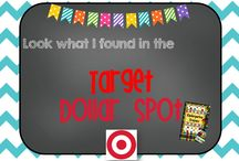 Target Dollar Spot Ideas / Here are great ideas for teachers who love the Target Spot from managing materials to making all kinds of learning stations! KindergartenCrayons.blogspot.com / by Kindergarten Crayons