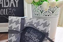 """""""Happy Birthday"""" / by Verbena Flores"""