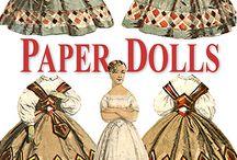Paper dolls / by Monie