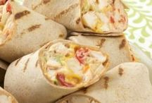 Wraps, Pitas, Quasadillas / Sandwiches, food / by Gladys Russell