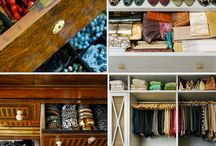 reorganized closet / by Allison Majam