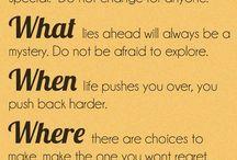 quotes / by Julie Crews-Kaminke