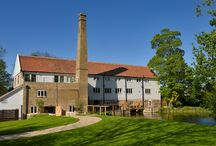 The Mill / Combining years of history with a chic yet sympathetic refurbishment, Tuddenham Mill is an intimate boutique hotel set in 12 acres of rural Suffolk countryside near Newmarket and Cambridge.  / by Tuddenham Mill