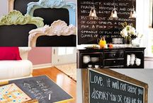 Creative Uses For Chalkboard Paint / by Laura Beth Love