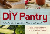 The DIY Pantry / The DIY Pantry by Kresha Faber features 165+ recipes for delicious homemade versions of your favorite store-bought foods. This board celebrates homemade pantry staples, including recipes from the book. Get your copy at your favorite local bookstore or at Amazon --> http://www.amazon.com/DIY-Pantry-Minutes-Healthy-Homemade/dp/1440571686/ / by Kresha @ Nourishing Joy