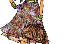 Fashion Artwork / by Debby Fernandez