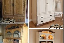Furniture Redos/Knockoff Decor / by Andrea Pascale