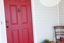 Front Doors / I am planning to replace my front door.  This board shows some great ideas.   / by Liz Lawson Favaro