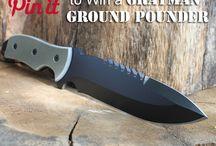 Grayman Knives / by Rebecca H.