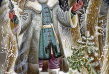 Christmas Santas / by Sue Race