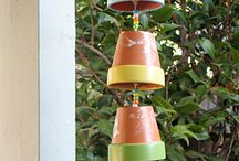wind chimes //mobiles / by Cathy McLamb