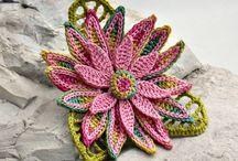 Crochet - flowers / by Jonna McCarthy