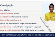 #CrewSpeaks / by Jet Airways India
