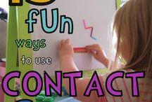 Sticky Wall / Preschool / by Jessica Winn