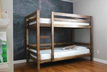 Bunk beds / by Kelly Jennemann