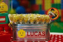 Minifigure Birthday Party / by Finnegan and The Hughes