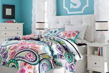 Girls' bedroom / by Christina Stafford