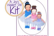 Joy's Waldorf Doll Making Kits at A Child's Dream / by A Child's Dream