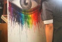 """...You ain't artsier than me..."" / by Alyssa Barth"