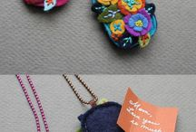 Fabric Jewelry / by Joan Hinchcliff